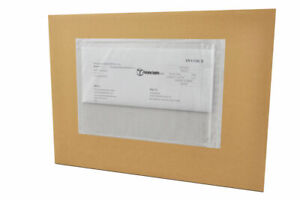 5 X 10 Re closable Packing List Envelopes Packing Supplies Back Load 1000 case