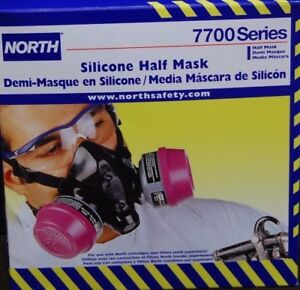North 770030m Series Silicone Half Mask And 2 Pack Filters 75scp100l Combo Sale