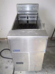 Pitco Commercial Solstice Electric Deep Fryer 17kw hr Se14x s 40 50 Lb Capacity