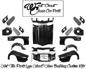 1970 1973 Camaro Hood Fenders Inners Header Rad Support Quarters Hl Buckets