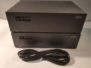 Pair Of Ibm Surepos 300 4810 32h Pos Terminal 1 2ghz 40gb Ide Hdd 512mb Ram
