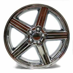 20 Iroc Wheels Chrome 20x8 5 5 Spoke Aftermarket Set Of 4 New