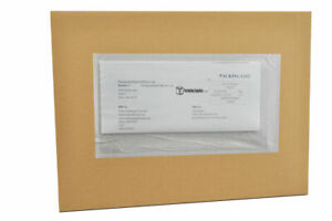 4500 8 X 10 Re closable Packing List Back Side Load Envelopes Packing Supplies