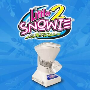 Ice Shaver Little Snowie 2 Shaved Ice Machine And Snow Cone Machine Appliance