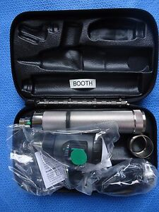 Welch Allyn Diagnostic Set 97200 mc Macroview Otoscope coaxial Ophthalmoscope
