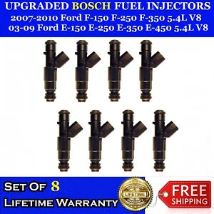 8x Performance Increase 12 Hole Bosch Injectors Ford F 150 250 350 E150 250 350