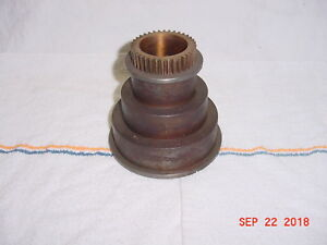 South Bend Heavy 10 10l Lathe Headstock Spindle 3 Step Cone Pulley