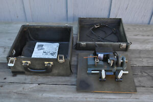 Vintage Ilco 190km Dyna mite Key Cutter Machine In Case With Manual