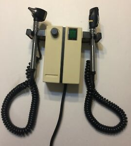 Welch Allyn 74710 Transformer W Two Heads Otoscope Ophthalmoscope