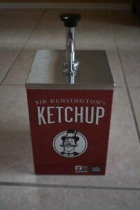 Server Condiment Pump Ketchup 10 Can Ss1 Dispenser Cpss f Restaurant