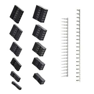 1420pcs Jst Dupont 2 54mm Ph Connector Housing Kit With Terminals black