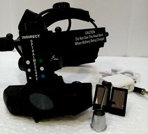 Ophthalmic Led Binocular Indirect Ophthalmoscope With Accessories Mg 717k