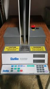 Chatillon Tcd200 Motorized Force Tension Testing Base