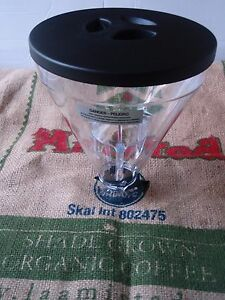 Mazzer Super Jolly Whole Bean Hopper Complete Hopper W Lid Made In Italy