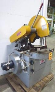 Everett Miter Abrasive Saw 20 22 No 20aa22 20 Hp Air Vise Dust Collect 30291