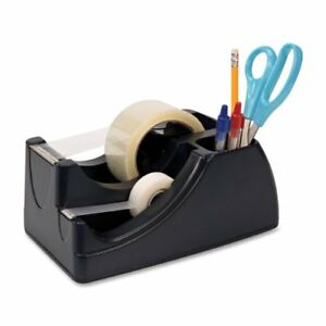 Tape Dispenser Packaging Shipping Desktop Tool Pen Holder Heavy Duty Office