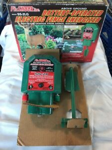 Fi shock Ss 2d Battery Operated Electric Fence Energizer New Ships Free