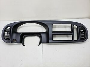 1998 2003 Dodge Ram Van Dash Bezel Speedometer Surround Trim Cap 98 03 Ram Van