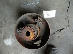 John Deere H Tractor Clutch Pulley W Drive Gear Part H750r Tag 647