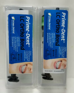 2 Prime Dent Dental Light Cure Orthodontic Adhesive Bonding System