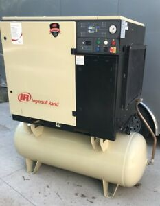 Used Ingersoll Rand Ssr Up6 30 150 Screw Air Compressor 30hp 230vac 3ph