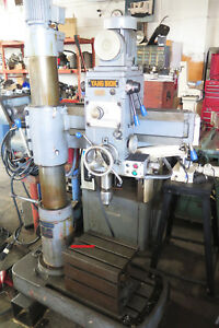 Yang Iron Works Yam rd600 Radial Arm Drill