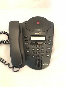Polycom Soundpoint Pro 2201 06001 001 Dual 2 Line Conference Phone With Headset