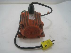 Vibco Inc Spwt80 Industrial Small Impact Electric Vibrator 3200 Rpm 115 V 1 7a