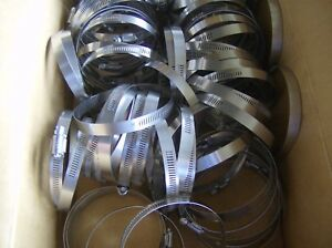 Lot Of 10 Ideal Hose Clamp Size 64 3 9 16 To 4 1 2 64mm 114mm Made In Usa