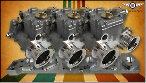 Bmw M20 6cyl Beltdrive Fajs Triple 40 Dcoe Weber Sidedraft Carburettor Kit