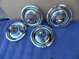 Chrome Shannon Cone Style Snap In Caps For Ralley Wheels