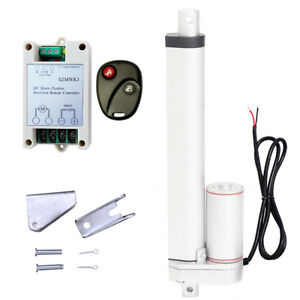 10 220lbs 100kg Max Lift Dc12v Linear Actuator W Wireless Motor Controller Kit