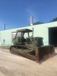 1988 Caterpillar D7g Dozer With Winch Ex Military