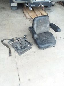 Used Case Backhoe Air Ride Seat Tractor Seat