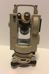 Pentax Scale Reading Transit Theodolite Level Surveying Th 60s 110610
