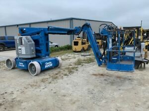 2002 Genie Z34 22n Articulating Boom 1396hrs New Batteries