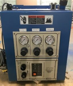 Nordson Exp100 Powder Coating System Cart Hoppers And Gun Included