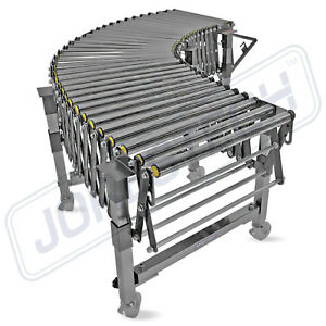 Heavy Duty Flexible Industrial Gravity Roller Conveyor free Shipping Jorestech