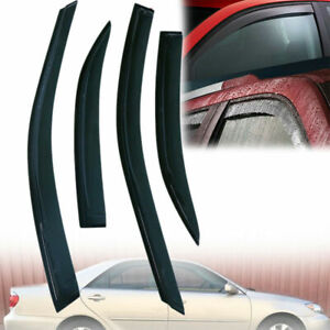Left Right Side Window Visor Shade Deflectors For Toyota Camry 2002 2005 2006