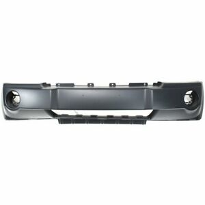 Bumper Cover For 2005 2007 Jeep Grand Cherokee Front Primed With Fog Light Holes
