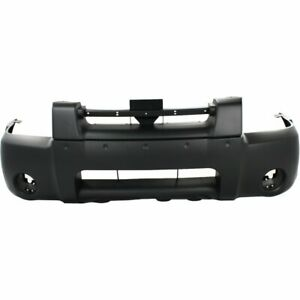 Bumper Cover For 2001 2004 Nissan Frontier Front Primed With Emblem Provision