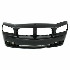 Bumper Cover For 2006 2010 Dodge Charger Srt Model Front Plastic Paint To Match
