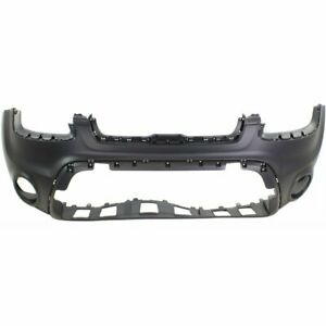 Bumper Cover For 2012 2013 Kia Soul Front Plastic Primed With Fog Light Holes