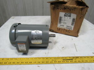 Baldor Boston Gear 66246 1 1 2hp 1725rpm 208 230 460v 145tc Electric Ac Motor