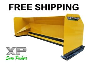 10 Xp36 Snow Pusher Boxes Backhoe Loader Express Steel Free Shipping rtr