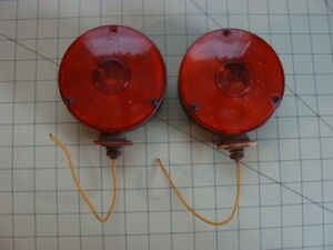 Vintage Pmco Turn Signal Lights