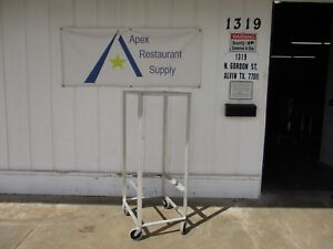 Large Pan Rack W casters Great Condition Commercial 3484