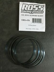 6 Oil Ring Support Rails Bore Sizes 4 780 4 840 In Ross Racing Pistons