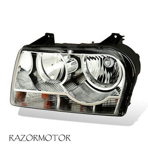 For 2005 2010 Chrysler 300 Driver Side Replacement Headlight Included Bulbs