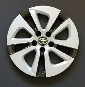 Original Toyota Prius 2016 2017 Hubcap 15 Black Silver Series Wheel Cover